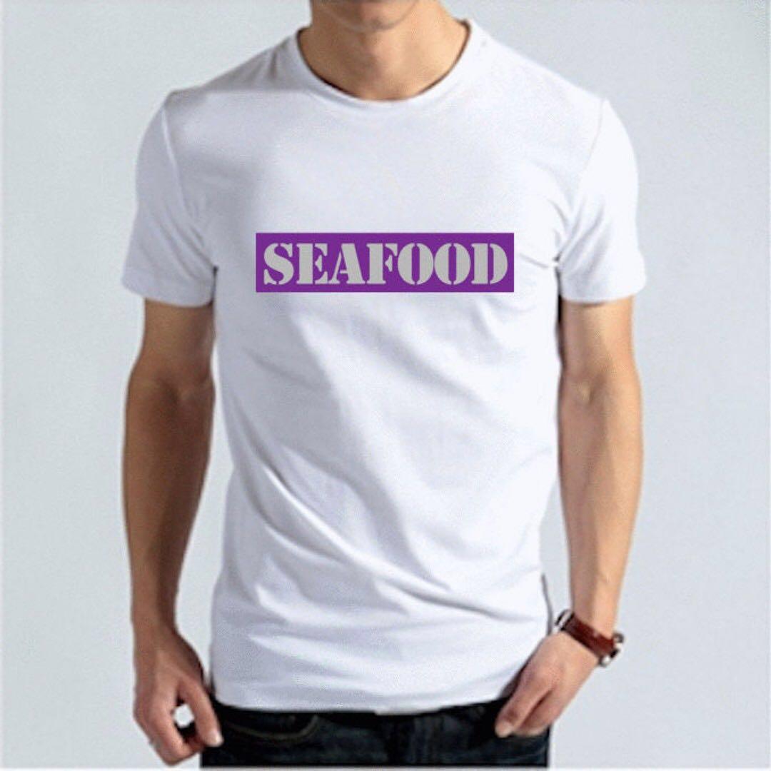 『SEAFOOD』HiCool機能性吸濕排汗圓領T恤