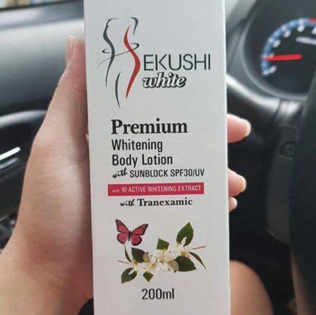 SEKUSHI White Premium Whitening Body Lotion