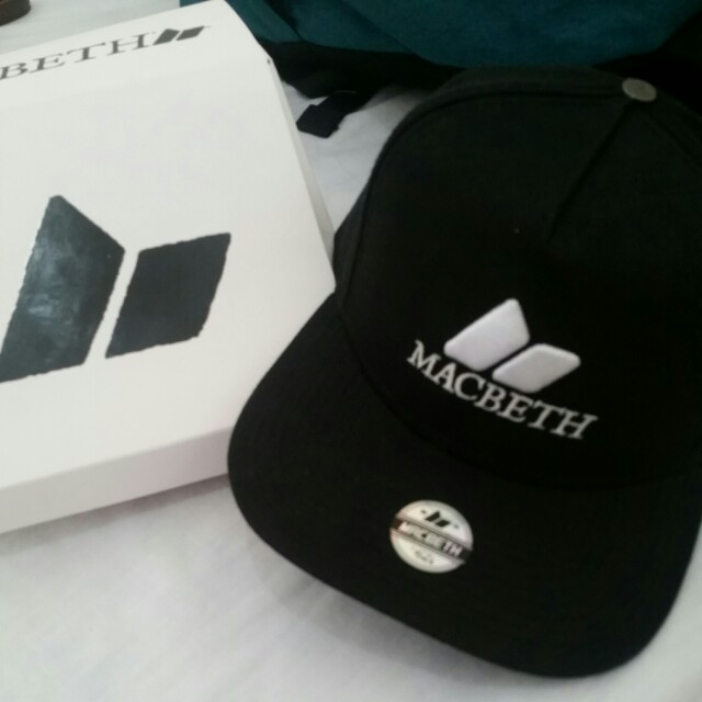 6e0466871 REPRICED!!! Macbeth Snapback Cap on Carousell