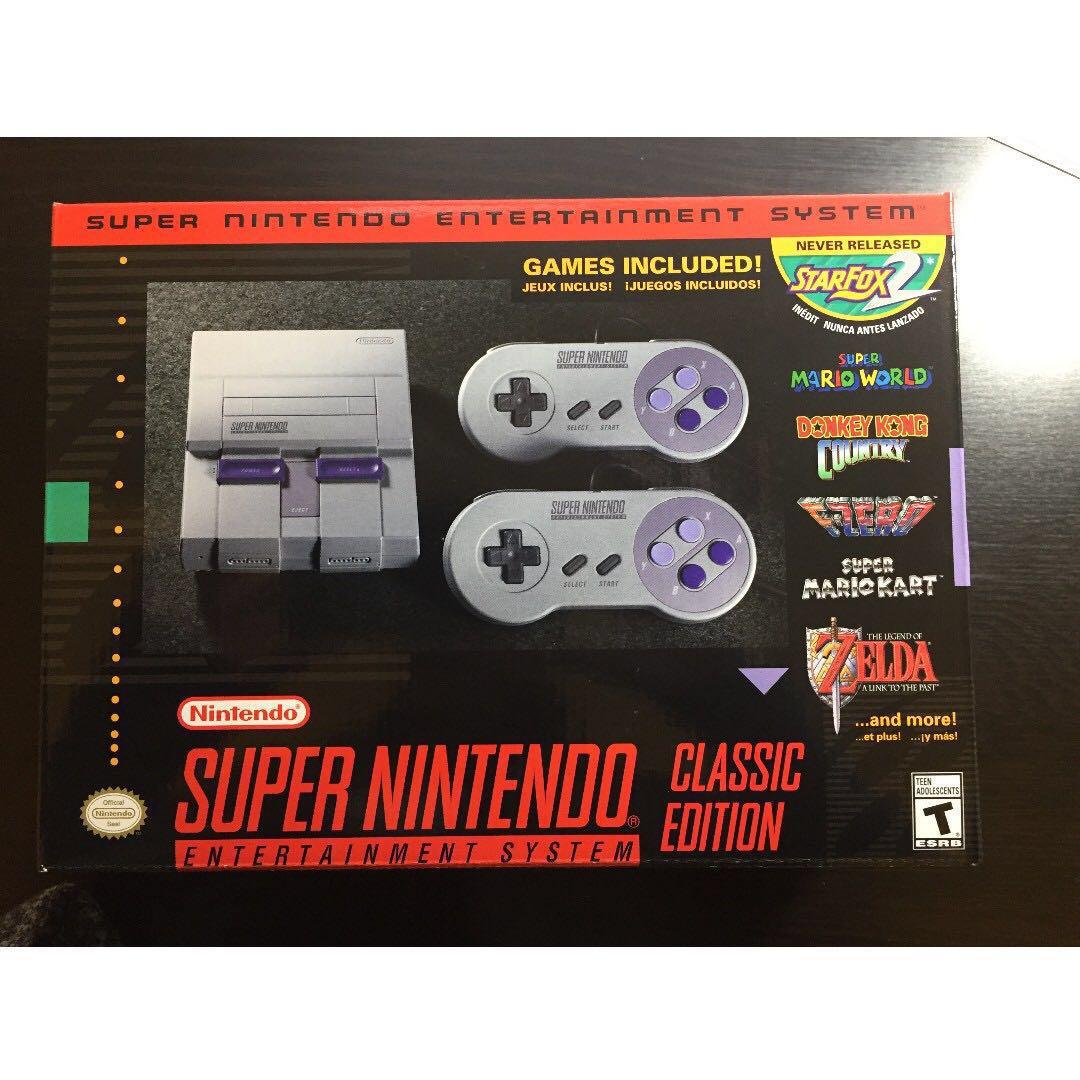 SNES Classic - Super Nintendo Mini