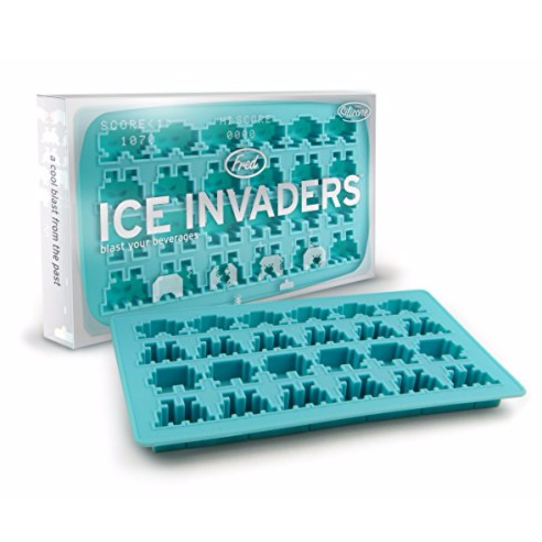E Invaders Silicon Ice Cube Tray By Fred Kitchen