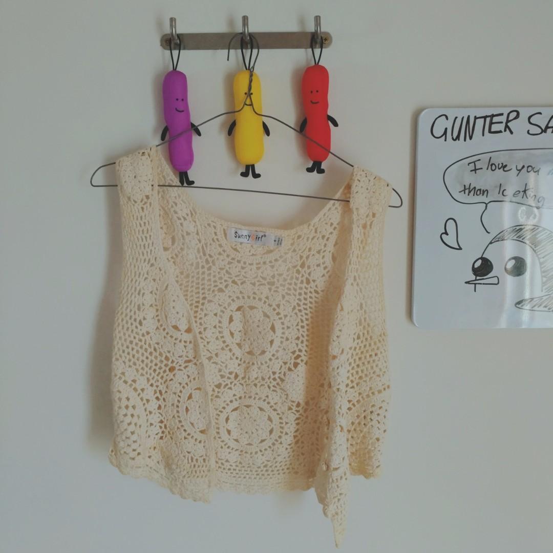 S♡SG Festival Crochet Vest