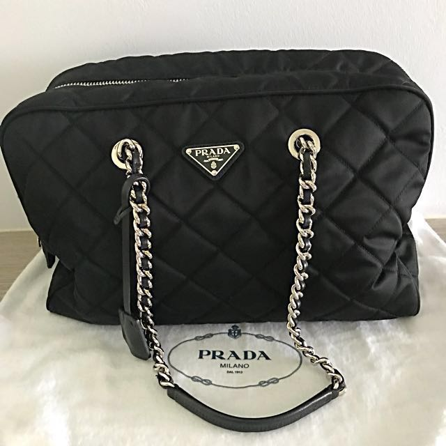 ... promo code for super dealprada tessuto impuntu shoulder bag luxury bags  wallets on carousell 1dcb5 348f3 4c861b7fc6d4c
