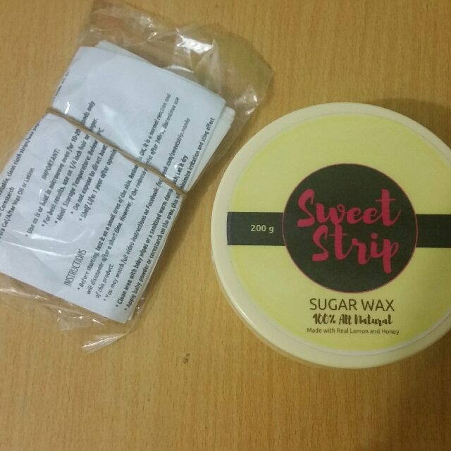 Sweet Strip Sugaring Wax