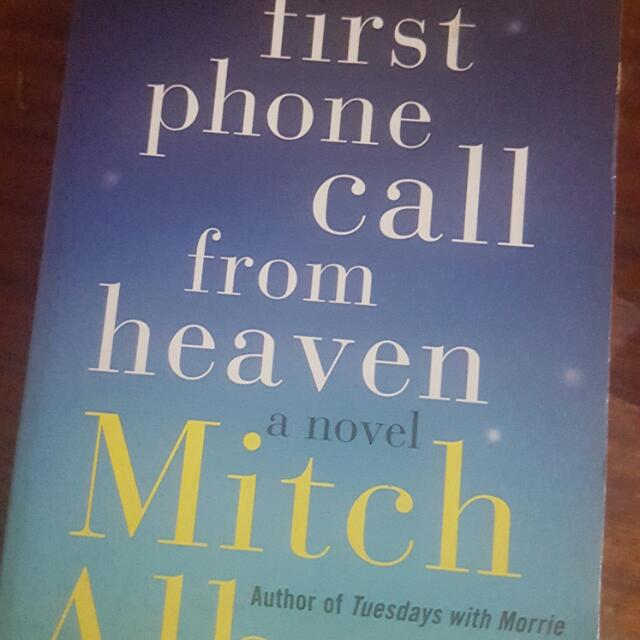The First Call from Heaven  by Mitch Albom *Reserved*
