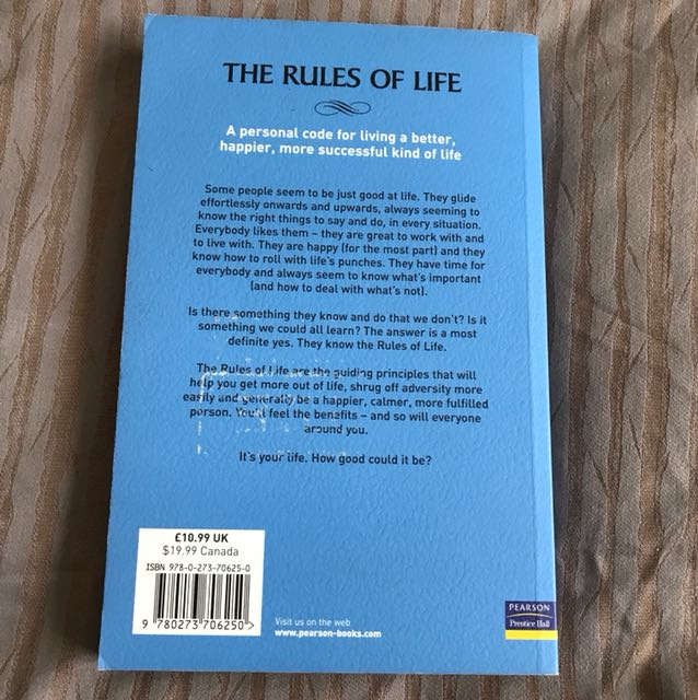 The rules of life by richard templar books stationery fiction on the rules of life by richard templar books stationery fiction on carousell fandeluxe Gallery