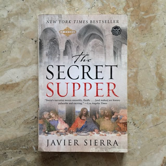 Author of The Secret Supper talks about details of his novel.
