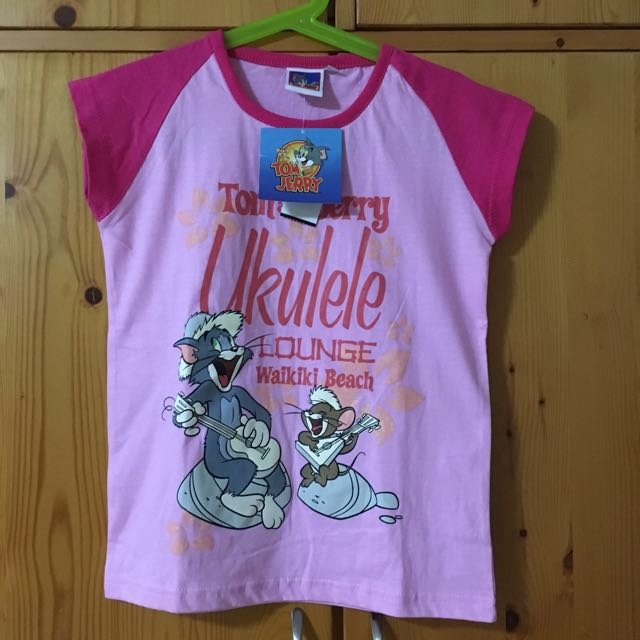 3049e321 Tom & Jerry T Shirt, Babies & Kids, Girls' Apparel on Carousell