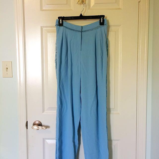 Topshop Unique blue trousers