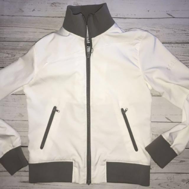 White Colombia Light Jacket Sz S