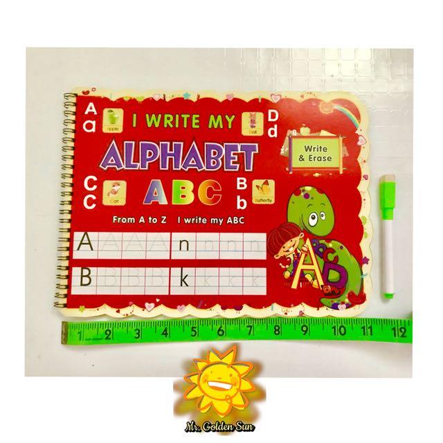 Write and Erase - Alphabet