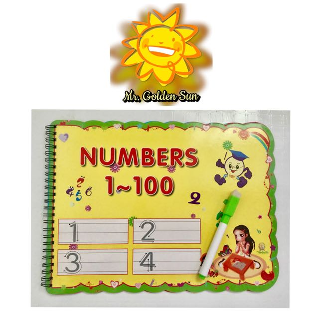 Write and Erase - Numbers