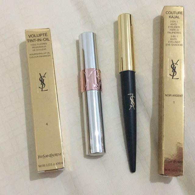 YSL Couture Kajal n Huile Volupte Tint in oil
