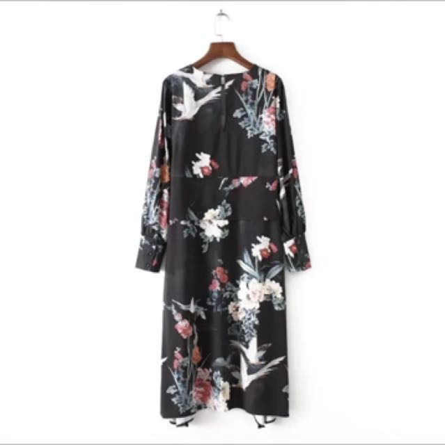 5bc95149 Zara inspired floral dress, Women's Fashion, Clothes, Dresses ...