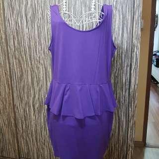 Plus size sleeveless dress