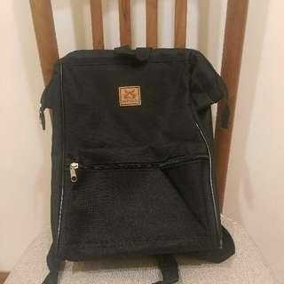 全新黑色後背包