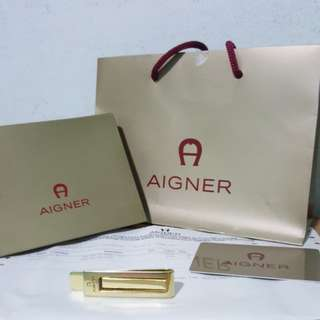 Aigner money clip