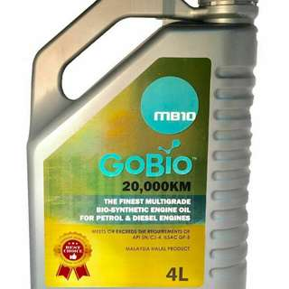 Engine Oil 20,000km