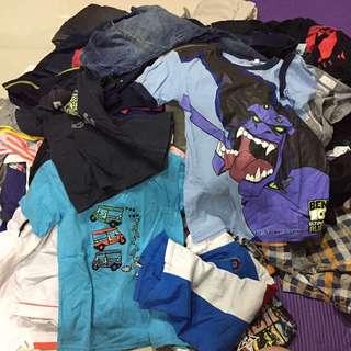 Boys clothes, Medium to Large.