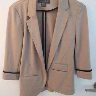 Tan Suzy Shier blazer