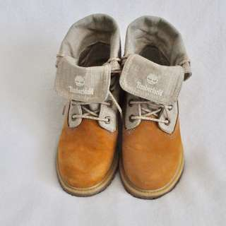 REDUCED Women's Timberland AUTHENTIC fold wheat boots - size 7
