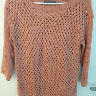 Sweater top - Suzy Shier small