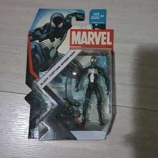Marvel Universe Black Costume Spider-Man w/ free