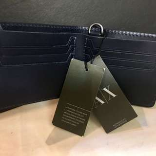ARMANI WALLET ( authentic ) new wd tag