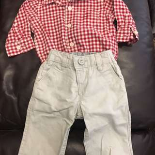 Baby Gap- 3 to 6 months- dress clothes - markham