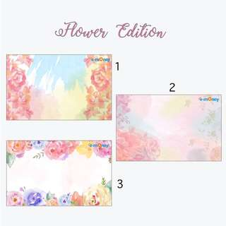 Emoney/flazz Custom Flowers Edition