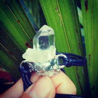 Crystal Cluster choker