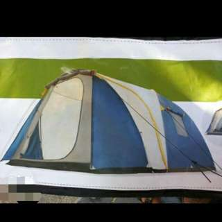 Active & co 8 person dome camping tent with 2 rooms