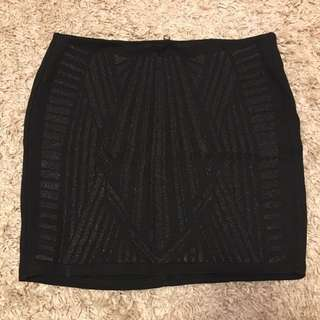 Black Skirt - Size Medium