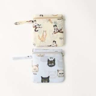 日本連線🐜🐜預購 可愛 貓咪造型 隨身收納包