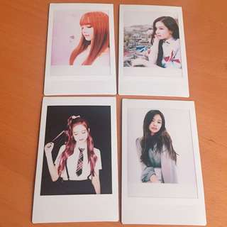 Blackpink Polaroid pictures