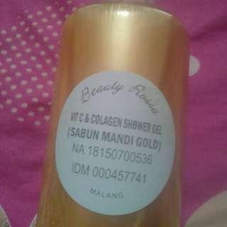 Sabun mandi gold beautyrossa