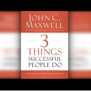 Hardcover Entrepreneurial successful book by John c maxwell