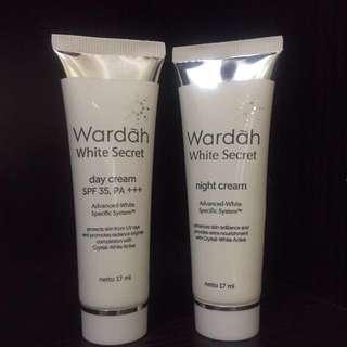 Wardah Secret White Day dan Night Cream