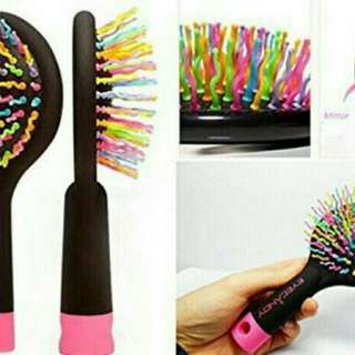 Rainbow Brush with Mirror