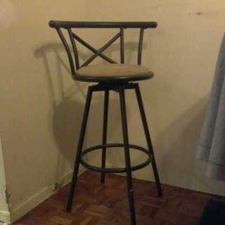 Swivel bar stool