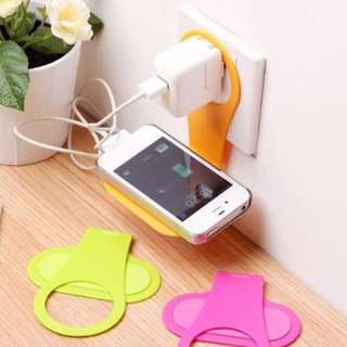 Foldable Mobile Charger Holder (4in1)