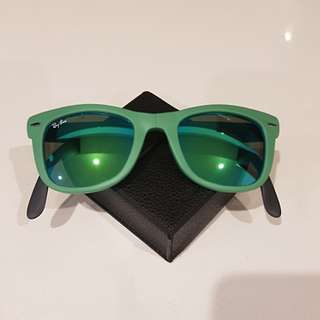 Authentic Ray-Ban Wayfarer Folding Flash Lenses
