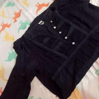 Auth ROXY knee length blouse