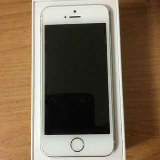 NEW iPhone 5S-16GB with Charger and Earphones Included
