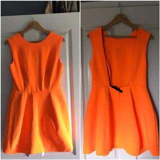 Aqua Couture Dress