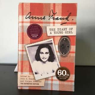 Anne Frank DIARY OF A YOUNG GIRL 60th Anniversary Edition