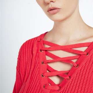 New Bardot crop jumper