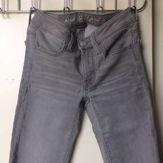Grey American Eagle Jeggings