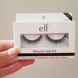 NEW E.l.f natural lash kit false lashes