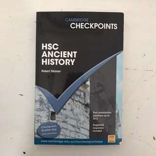 HSC ANCIENT HISTORY CAMBRIDGE CHECKPOINTS